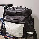 "Сумка ""ШТАНИ"" на багажник для велосипеда, фото 3"