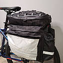 """Сумка """"ШТАНЫ"""" на багажник для велосипеда, фото 3"""