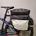 """Сумка """"ШТАНЫ"""" на багажник для велосипеда, фото 10"""