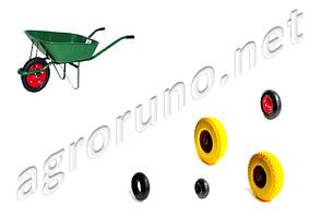 Колеса для тачек, камеры и покрышки