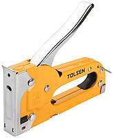 Степлер строительный металлический под скобу 4-8 мм, Tolsen (43022)