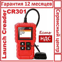 Launch CR301. Автомобильный, мультимарочный, диагностический сканер, лаунч, для диагностики авто