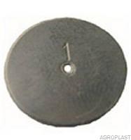 Шайба дозирующая КАС 1,0 мм