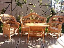 "Комплект мебели из лозы ""Капля"" 2"