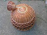 Люстра из лозы для дома, фото 2