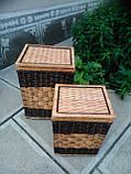 Ящики квадратные с темной окантовкой, фото 2