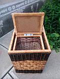 Ящики квадратные с темной окантовкой, фото 4