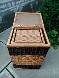 Ящики квадратные с темной окантовкой, фото 5