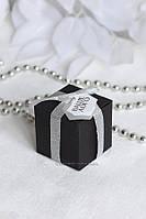 """Коробочка """"Куб"""" з биркою з вашим логотипом, фото 1"""