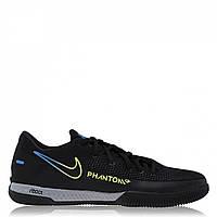 Футзалки Nike React Phantom GT Pro Indoor Court Trainers Black/Cyber - Оригинал, фото 1