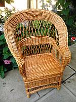 """Кресло из лозы """"Капля Р"""""""