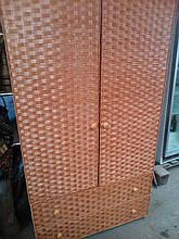 Шкаф бельевой из лозы