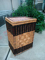 Ящик квадратный большой с окантовкой