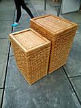 Ящики для белья натуральные пара, фото 3