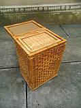 Ящики для белья натуральные пара, фото 6