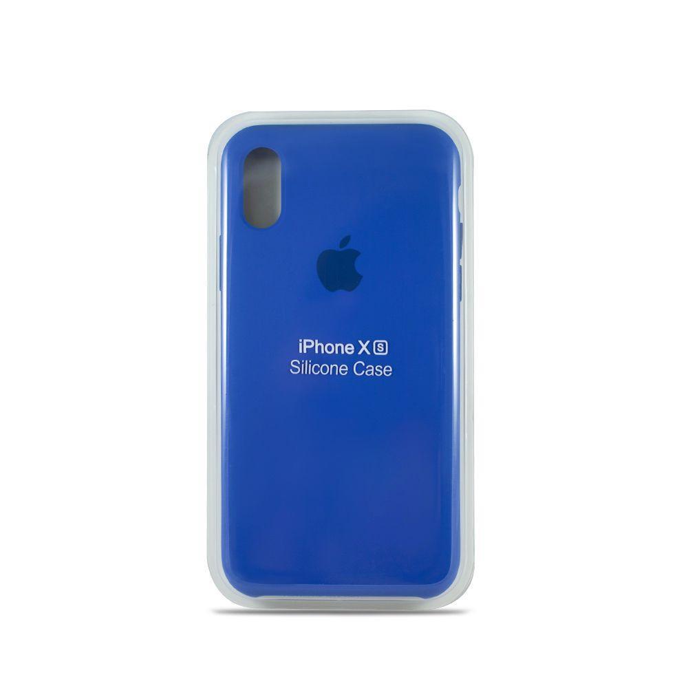 Apple iPhone XR Чохол-накладка Original Soft Case Blue