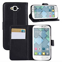 Чехол-бумажник для Alcatel One Touch 7040D 7041D POP C7