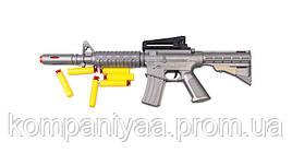 Іграшковий автомат з м'якими кулями M16 PF Golden Gun 910GG (Сірий)