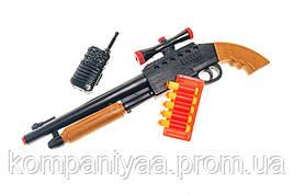 Детский игрушечный дробовик с мягкими пулями 922GG