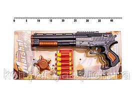 """Іграшковий дробовик """"Marshal"""" Golden Gun 915GG з м'якими кулями"""