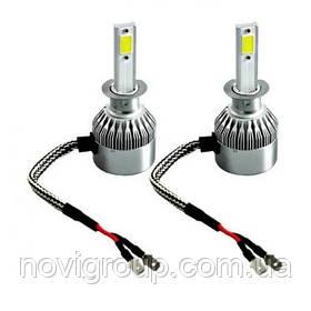 Світлодіодні лампи для авто C6-H7 (комплект 2шт)