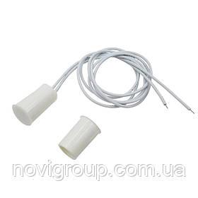 Врізний магнітний перемикач RC-33, 10 * 18 мм, пластик, білий, 20 штук в упаковці, ціна за упаковку