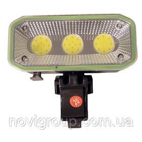 Ліхтарик Bailong велосипедний BL 963, 3 реж., Корпус-пластик, водостійкий, ударостійкий, 18650 акумулятор СЗУ,
