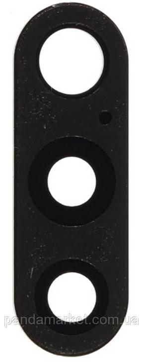 Скло камери Nokia 6.1 Plus, Nokia X6 Чорний
