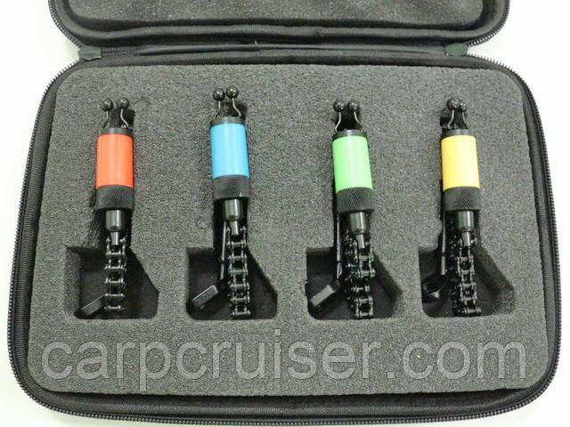 Carp Cruiser SW22B-4 набор свингеров баты на вело цепи из нержавейки цвет черный под сигнализаторы поклевки