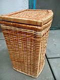 Ящик маленький выпуклый натуральный, фото 2