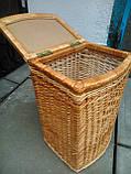 Ящик маленький выпуклый натуральный, фото 5