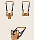 Вожжи для детей  Babykly Плотные Собака (15026), фото 5
