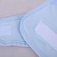Багаторазові бавовняні підгузники з резиночкою навколо ніжки Бузкові, фото 4