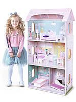 Ляльковий будиночок, кукольный домик для барби Ecotoys 4121