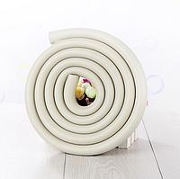 Защитная лента дугообразная на стеклянный стол - серый (03089)