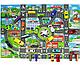 Дитячий ігровий килимок з автомобільною дорогою 83х58 див. Спанбонд (36053), фото 4