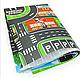 Дитячий ігровий килимок з автомобільною дорогою 83х58 див. Спанбонд (36053), фото 5
