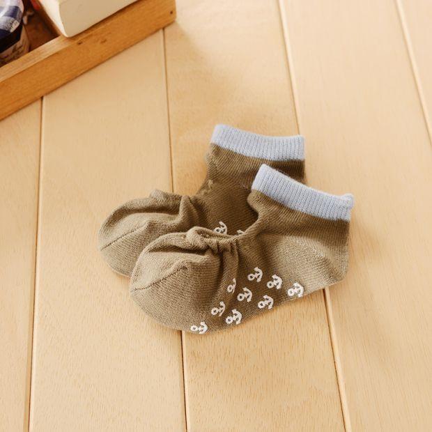 Дитячі шкарпетки з нековзною підошвою Чибис БОЛОТНІ 9-12
