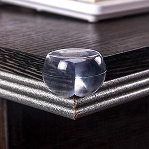 Захист на кути кругла силіконова - стандартна. Силіконовий куточок.Прозорий (03003)
