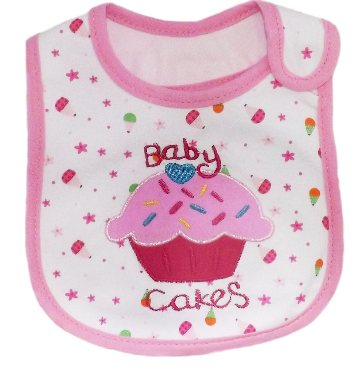 Слинявчик для годування Baby Cakes