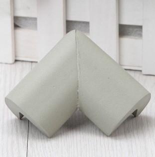 Защита на углы мягкая - большая. Серый. (03016)