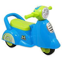 Машинка-каталка Alexis-Babymix HZ-605 голубой
