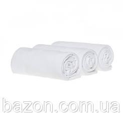 Набір спортивних рушників 45*95, 400гр/м2 (3 шт білий) (md307)