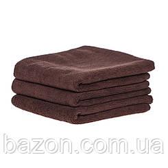 Набір спортивних рушників 45*95см, 300гр/м2 ( 3 шт коричневий) (md323)