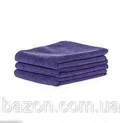 Набір спортивних рушників 45*95см, 300гр/м2 ( 3 шт фіолетовий) (md321)