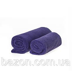 Набір спортивних рушників фіолетових 300гр/м2 (45*95 і 35*75) (md351)