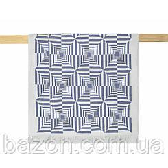 Плед 200х220 см хлопковый рельефный голубой Nyla Arya AR-TR1006342-blue