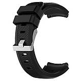 Ремешок для часов Silicone bracelet Universal Type С, 20 мм., Black, фото 3