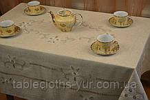 Скатертина льон гладь 110-160