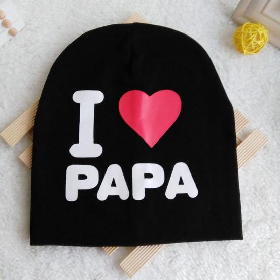 Шапка I love papa (07301)